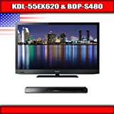 "Sony KDL-55EX620 - 55"" BRAVIA LED-backlit LCD TV + Sony BDP-S480 - 3D Blu-r ...."