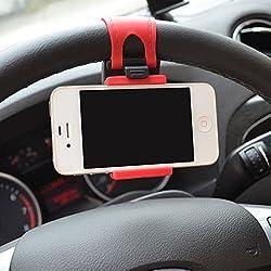 IBZ 54-76mm Car Steering Wheel Mobile Holder