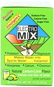 EMERGEN-C ELECTRO MIX Lemon-Lime, 30 ct, 4.2 oz