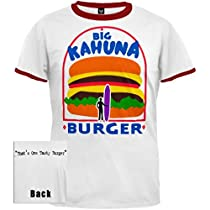Pulp Fiction - Big Kahuna Burger Ringer T-Shirt
