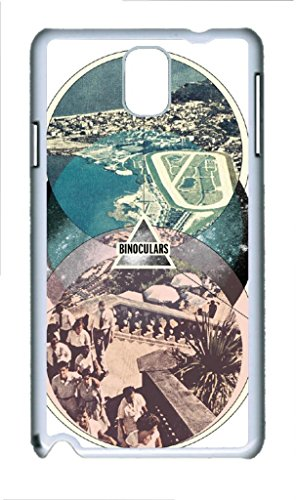 Custom Binoculars Hard Plastic Back Cover Case For Samsung Galaxy Note 3 N9000 White (730) -82354