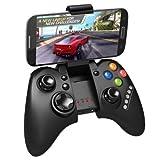 Prix Le Plus Bas iPega PG-9021 Manette de jeu Bluetooth rechargeable Support télescopique pour smartphone Apple / Android et tablette