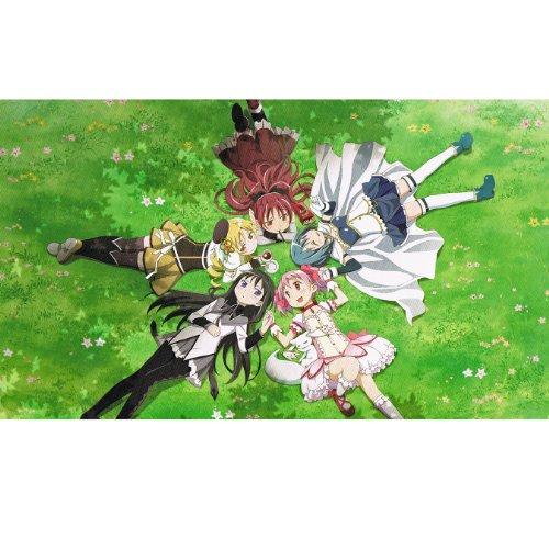 魔法少女まどか☆マギカ デラックスマルチクロス 描きおろしイラスト ( 縦110cmx横190cm )