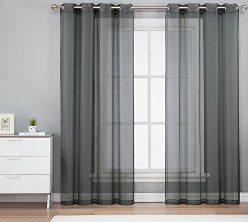 Top 5 Best charcoal grey curtains for sale 2016 : Product : BOOMSbeat