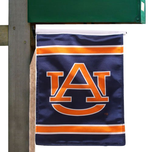 NCAA Auburn Tigers Navy Blue 11.5'' x 13'' Garden/Mailbox Flag at Amazon.com