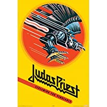 Judas Priest (Screaming for Vengeance) Music Poster Print