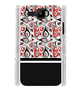 Girl Double Wall Pattern Soft Silicon Rubberized Back Case Cover for Intex Aqua R3 Plus