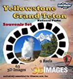 ViewMaster - Yellowstone and Grand Teton National Parks 9 Reels - 63 3D Images