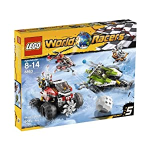 LEGO® World Racers Blizzard's Peak 8863