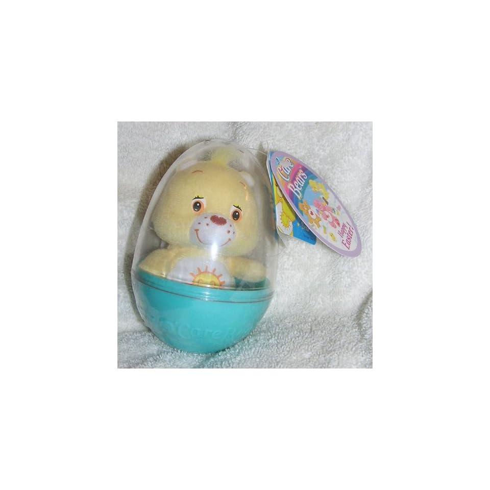 Care Bears 5 Plush Funshine Bear in Plastic Easter Egg
