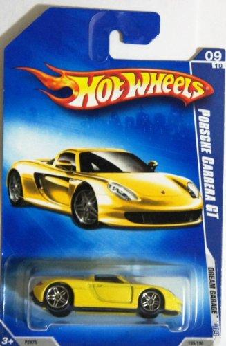 Hot Wheels 2009-10 Dream Garage Porsche Carrera GT YELLOW 1:64 Scale - 1