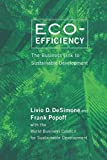 img - for Eco-Efficiency: The Business Link to Sustainable Development by DeSimone Livio D. Popoff Frank (2000-02-28) Paperback book / textbook / text book