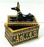 Sale - Ancient Egyptian Anubis Jewelry Trinket Box Ships Immediatly !