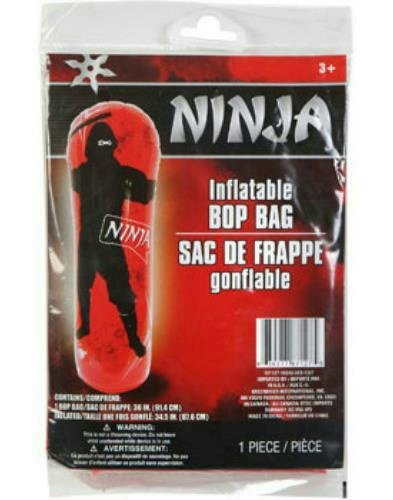 36 Inch Ninja Martial Arts Inflatable Bop Bag - 1