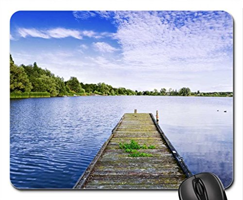 "From the ""i wish to be"" place Mouse Pad, Mousepad (Lakes Mouse Pad)"