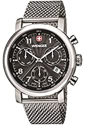 Wenger 011043102 - Men's Watch, Stainless Steel, Silver Color