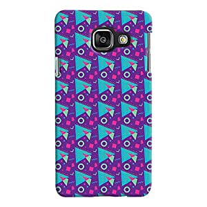 ColourCrust Samsung Galaxy A3 A310 (2016 Edition) Mobile Phone Back Cover With Colourful Pattern Style - Durable Matte Finish Hard Plastic Slim Case