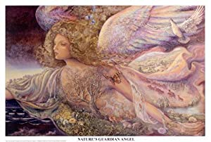 Josephine Wall (Nature's Guardian Angel) Art Poster Print