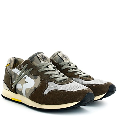 Replay Uomo Sneakers, RS250006, GERARD, Militare, 44
