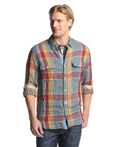 French Connection Men's Bison Double Shirt