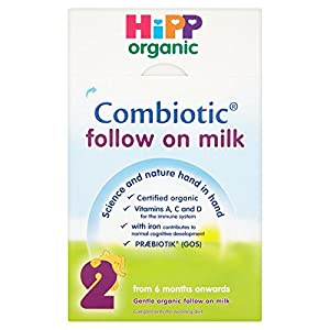 HiPP Organic 2 From Six months Onwards  Follow on Milk 800g (pack of 4)