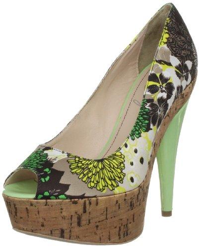 Miss Sixty Women's Kristal Multicolor Green Open Toe Q02212-TS9323-Z05475 6.5 UK, 40 EU