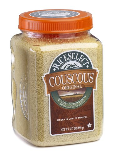 RiceSelect Original Couscous, 31.7-Ounce Jars (Pack of 4)