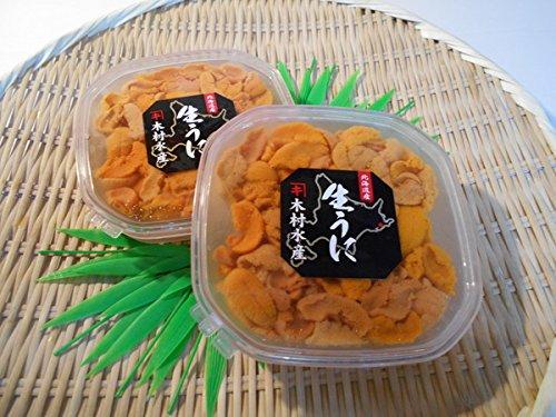 【(有)北海道特産品販売】 海水ウニ(天然物エゾバフンウニ) エゾバフンウニ100g
