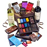Green & Black's Luxury Chocolate & Wine Hamper
