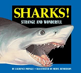Book Cover: Sharks! strange and wonderful