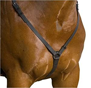 Wintec Synthetic Pro Quality Breastplate, Black, Cob
