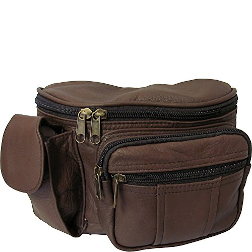 amerileather-leather-cell-phone-fanny-pack-brown