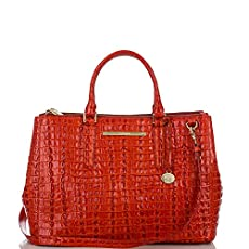 Lincoln Satchel<br>Vermillion La Scala
