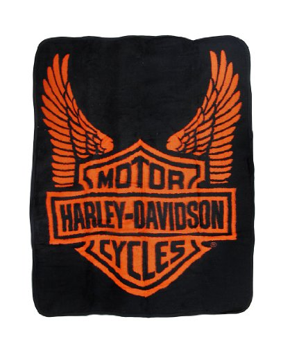 Harley Davidson Blankets And Throws