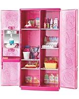 Barbie T9081 - Barbie, mobili: Frigorifero con macchina del gelato