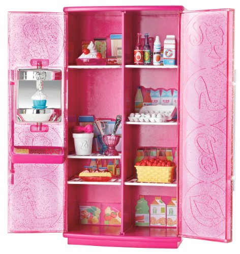 51j5cCYT8QL Buy  Barbie Treats To TV Refrigerator Set