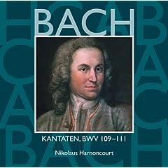 """Cantata No.109 Ich glaube, lieber Herr, hilf meinem Unglauben! BWV109 : VI Chorale - """"Wer hofft in Gott, und dem vertraut"""" [Choir]"""