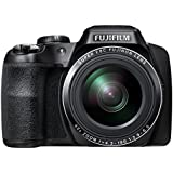 Fujifilm Finepix S8300 - 16.2MP BSI CMOS Digital Camera with 42x Zoom, Full HD Video Recording, 3-inch LCD Display - Black (Certified Refurbished)