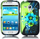 Samsung Galaxy S III mini i8190 ( AT&T ) Phone Case Accessory Admirable Flower Hard Snap On Cover with Free Gift Aplus Pouch