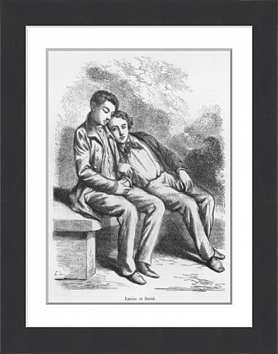 framed-print-of-lucien-de-rubempre-and-david-sechard-illustration-from-les-illusions