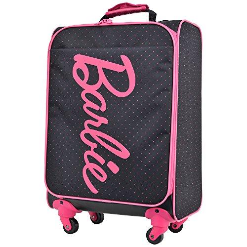 キャリーケース バービー シャノンTR スーツケース かわいい 機内持ち込み可 軽量 Barbie ソフトタイプ 4輪 34L 1日 2日用 48cm Sサイズ 45009