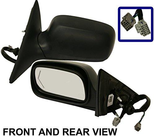 New Door Mirror Glass Replacement Passenger Side For Chevrolet Tahoe 98-00