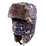 Unisex Winter Hat PADEK Trapper Hat Ear Flap Cap Ski Mask Hunting Russian Hat