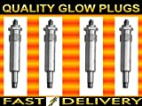 Mitsubishi L200 2.5 D 2.5 TD Glow Plugs Glowplugs
