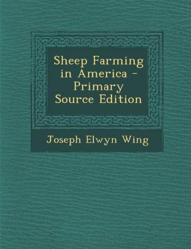Sheep Farming in America