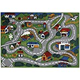 Fun Time FT-003 0508 5 x 8 ft. Country Fun Kids Rug