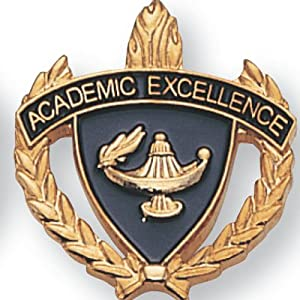 Amazon Com Academic Excellence Award Lapel Pin Pack Of