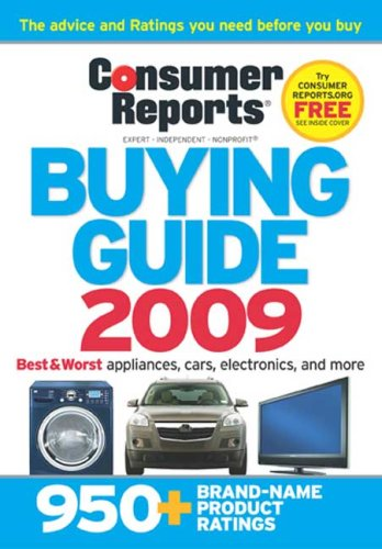 The Buying Guide 2009 (Consumer Reports Buying Guide)