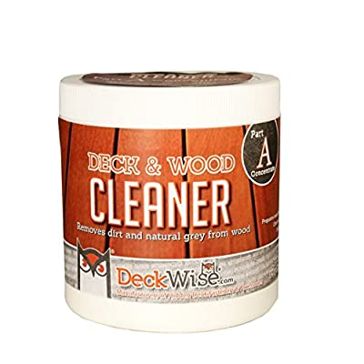 DeckWise Deck & Wood Cleaner - Part 1 - 16 oz. for 600 Sq. Ft. of Decking
