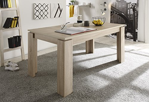 Tisch Rund Ahorn Hell ~ esstisch sägerau ausziehbar – ComForAfrica